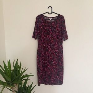 new // lularoe • floral julia dress
